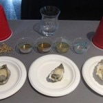 Oysters paired with Islay whisky at SF Chefs 2013