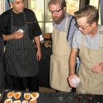 Roka Akor participates in the Bar Bites event at SF Chefs 2013.