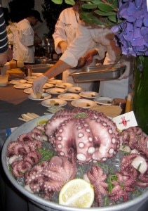 Salt House Octo 211x300 Octopus platter from Salt House