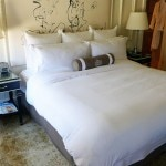 A guest room at The US Grant hotel in San Diego's Gaslamp Quarter