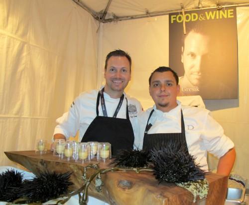 Chef Ian Gresik, Drago Centro
