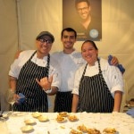 The team from Scarpetta in Beverly Hills