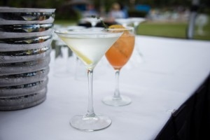 Beverages at the Ka'anapali Fresh celebration