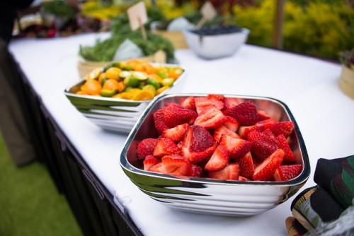 Fruit on display at the Kaanapali Fresh celebration on the island of Maui