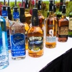 Different varieties of liquor at the Ka'anapali Fresh celebration