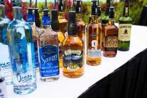 aloha liquor 300x200 Different varieties of liquor at the Kaanapali Fresh celebration