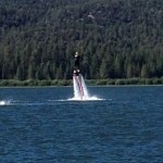 Jeff Hoyt gets airborne at Big Bear Lake, CA