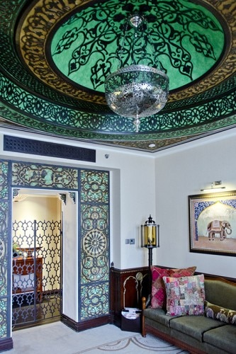 The India Room at Fairmont Peace Hotel in Shanghai