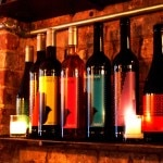 A selection of Moroccan wines at Rustic L.E.S.