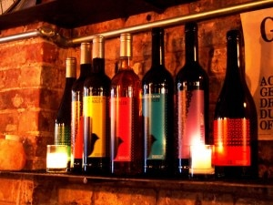 moroccan wine shelf 300x225 A selection of Moroccan wines at Rustic L.E.S.