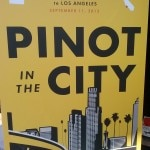 Pinot in the City's stylish poster