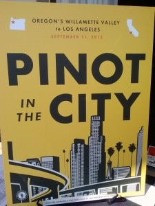 pinot in the city 225x300 Pinot in the Citys stylish poster