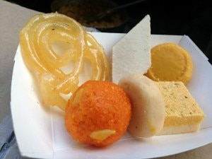 Diwali sweets 300x225 Indian sweets like kesar peda and jalebi
