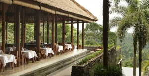 Dining with a view at Alila Ubud in Bali