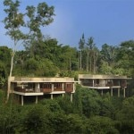 The exterior of Alila Ubud in Bali