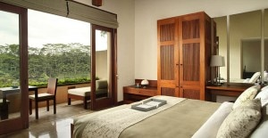 alila ubud guest room view 300x155 Views from a guest room at Alila Ubud in Bali
