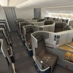 Business Class seating on the new American Airlines Boeing 777-300ER