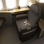 First Class seating on the new American Airlines Boeing 777-300ER