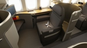 american airlines first class 300x168 First Class seating on the new American Airlines Boeing 777 300ER
