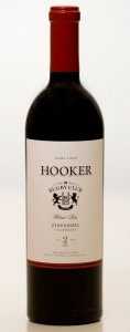 "Hooker 2010 ""Blind Side"" Zinfandel"
