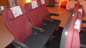 Japan Airlines' Economy seats on the JAL SKY SUITE 777