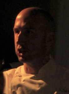 The Kitchen's executive chef John Griffiths