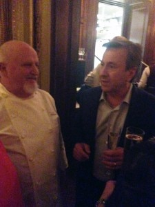 Michel Richard and Daniel Boulud at Villard Michel Richard