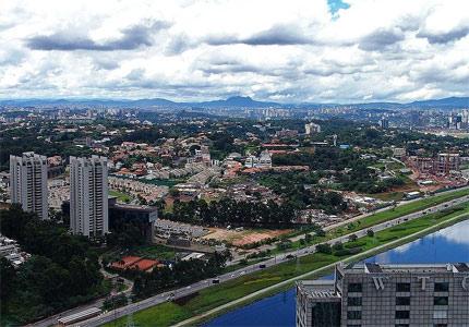 Morumbi in Sao Paulo, home to Estadio Cicero Pompeu de Toledo, one of Brazil's famous soccer stadiums
