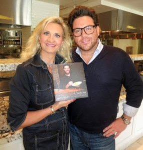 Chef Scott Conant with his third recipe book