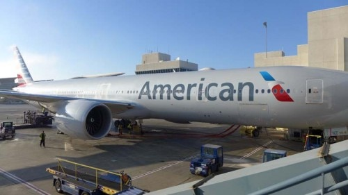 American Airlines' new Boeing 777-300ER