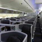 American Airlines' Business Class cabin on the new Boeing 777-300ER