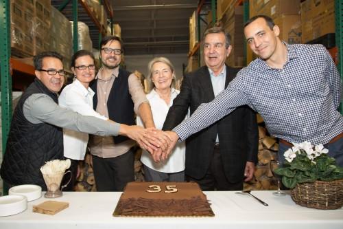 The Di Ruocco family celebrates Mr. Espresso's 35th anniversary. Image courtesy of Mr. Espresso.