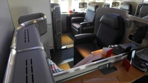 First Class seats on American Airlines' new Boeing 777-300ER