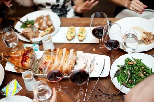 Holiday dinner with affordable Bordeaux wines