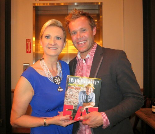Brian Malarkey with Sophie Gayot