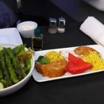 meal 150x150 Luxurious Perks in Business Class on American Airlines New Boeing 777 300ER   Travel News