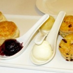 English-style scones are a key part of the holiday teas