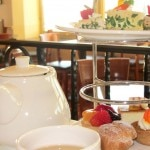 Holiday tea service at Top of the Mark