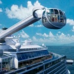 The North Star observation capsule hoists guests 303 feet above sea level