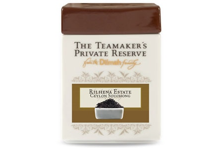 Rilhena Estate Ceylon Souchong, a single-estate tea grown in the Ratnapure region