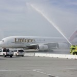 emirates a380 water cannons 150x150 Emirates Goes Long with Daily Nonstop Service Between Los Angeles and Dubai
