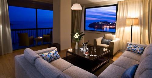 Living room at Hotel Excelsior Dubrovnik