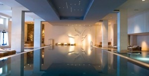 The spa at Hotel Excelsior Dubrovnik