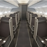 first class cabin 150x150 A New Way to Fly from Coast to Coast in America