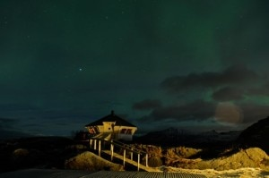 Hamn i Senja observatory for the Northern Lights