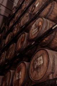 herradura barrels 198x300 Herraduras tequila is aged in barrels