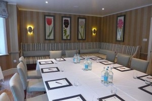meeting room 300x200 A meeting room at the Draycott Hotel in London