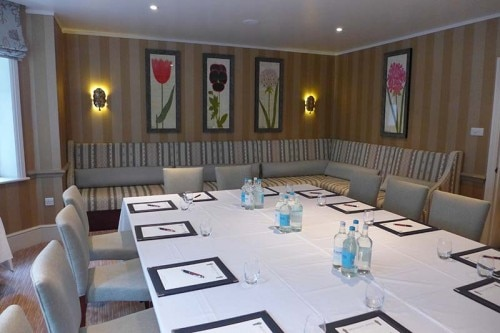 A meeting room at the Draycott Hotel in London