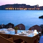 The view from Prora Beach Restaurant at the Hotel Excelsior Dubrovnik