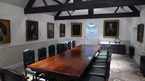 The boardroom at Ellenborough Park